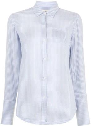 Nili Lotan Pinstripe Print Shirt