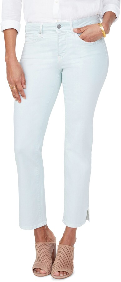 NYDJ Marilyn Ankle Slit Jeans