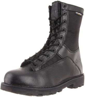 """Bates Footwear mens 8"""" Durashock Lace-to-toe Side Zip Work Boot"""