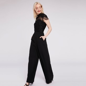 Morgan Jumpsuit with Lace Details