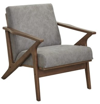 Union Rustic Aster 42 W Full Grain Leather Club Chair Shopstyle