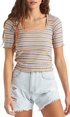 Billabong Halfway There Stripe T-Shirt