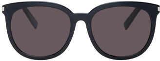 Saint Laurent Black Slim SL 284/F Sunglasses