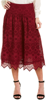 St. Roches Faith Midi Skirt