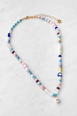 Urban Outfitters Pastel Bead Necklace - Assorted ALL at