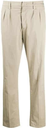 Dondup Pleated Tapered Trousers
