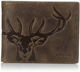 Fossil Men's Jack Bifold Wallet with Flip ID