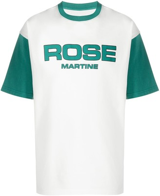 Martine Rose contrast-sleeve T-shirt