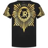 John Richmond John RichmondBoys Black & Gold Top