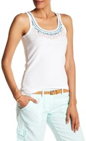 Tommy Bahama Barrier Reef Embellished Sequin Rib Tank