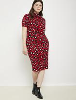 ELOQUII Intarsia Sweater Pencil Skirt