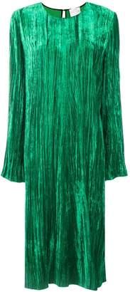 Forte Forte crease effect velvet dress