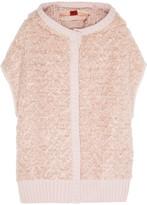 Missoni Hooded wool-blend bouclé vest