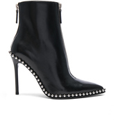 Alexander Wang Leather Eri Boots in Black.