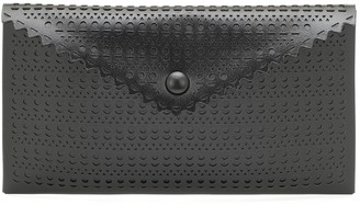 Alaia Louise leather clutch