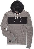Lrg Men's Henley Hooded Sweatshirt