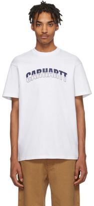 Carhartt Work In Progress White District T-Shirt