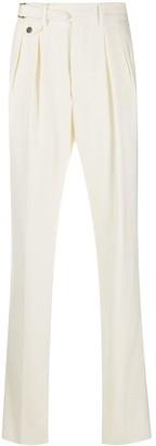Lardini High-Waisted Straight Leg Trousers