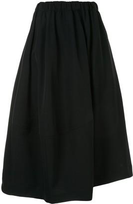 Comme des Garçons Comme des Garçons Flared Midi Skirt