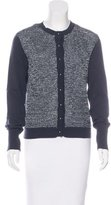 Allude Wool Embellished Cardigan