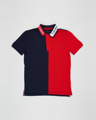 Tommy Hilfiger Colourblock Short Sleeve Polo - Teens