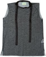 Aries sheer sleeveless top