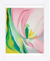 McGaw Graphics Pink Tulip, 1926 By Georgia O'keeffe