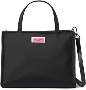 Kate Spade Logo-appliqued Shell Shoulder Bag