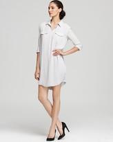 James Perse Dress - Easy Henley Shirt