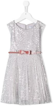 MonnaLisa Sequin Embellished Dress