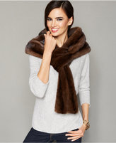 The Fur Vault Pull-Though Mink Fur Stole