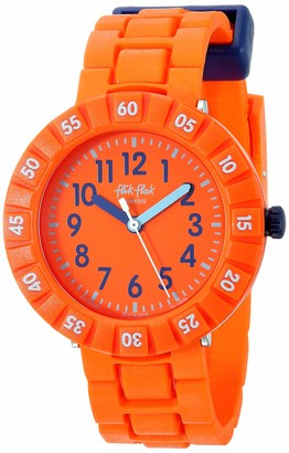Flik Flak Boys Analogue Quartz Watch with Plastic Strap FCSP087