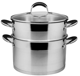 Stock Pot/Steamer with Lid
