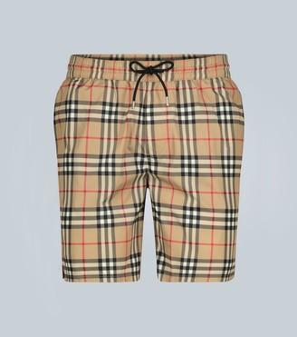 Burberry Classic check-printed swim shorts
