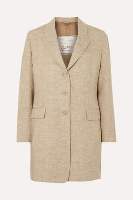 Giuliva Heritage Collection Karen Herringbone Wool Blazer - Sand