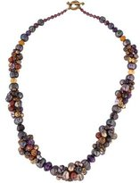 Stephen Dweck Multistone & Pearl Necklace