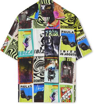 Loewe + Paula's Ibiza Camp-Collar Printed Cotton Shirt