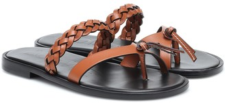 Loewe Paula's Ibiza leather sandals