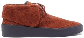 Fear Of God Suede Chukka Boots - Mens - Burgundy