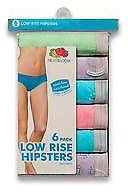 Fruit of the Loom ; Women's Heather Hipsters 6-Pack - Multicolored