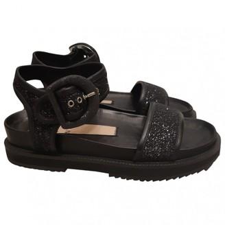 N°21 N21 Black Leather Sandals
