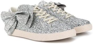 Douuod Kids TEEN sequin low-top sneakers