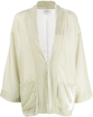Forte Forte oversized velvet jacket