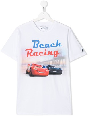 MC2 Saint Barth Kids TEEN Beach Racing T-shirt