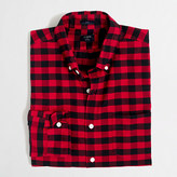 J.Crew Factory Tall plaid oxford shirt