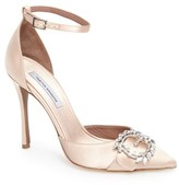 Tabitha Simmons Women's Tie The Knot Crystal Buckle Pump