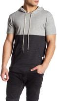Kinetix Short Sleeve Knit Hoodie