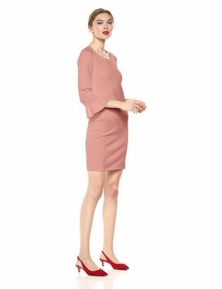 BB Dakota Womens Now or Never Ruffle Sweater Dress
