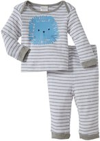 Absorba Lion Layette Set (Baby) - Gray-6-9 Months