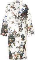 ADAM by Adam Lippes Floral Print Cocoon Coat